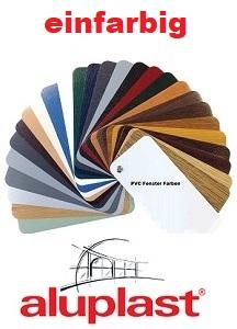Aluplast-farbdekore-einfarbig
