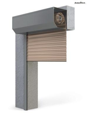 Garagentore Rolltore Beige - Antrieb Fernbedienung Zubehör
