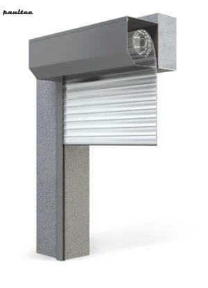 Garagentore Rolltore Weiß - Antrieb Fernbedienung Zubehör