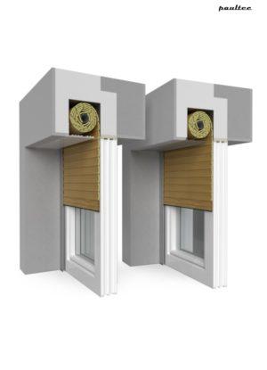 7 Holz hell Fenster Rollladen QuadBox Unterputzrollladen BeClever